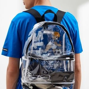 Urban Outfitters Clear Backpack